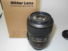 Nikon AF s 105 mm f 2,8 Micro G IF ED VR