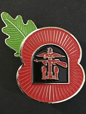 Combined Operations Remembrance Poppy Pin