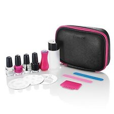 Konad Stamping Nail Art Travel Kit Set Korea Pedicure Image Plate Nail Polish