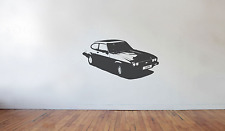 Ford Capri wall art decal / sticker (large) injection Retro Classic 70's 80's