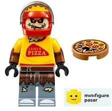 sh332 The Lego Batman Movie 70910 - Scarecrow Minifigure with Devil Pizza - New