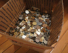 "1/2 POUND ""BULK"" WORLD FOREIGN COIN LOTS"