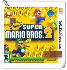 3DS Nintendo New Super Mario Bros 2 Platform