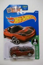 2016 HOT WHEELS SUPER TREASURE HUNT TESLA ROADSTER IN PROTECH CAR CASE