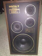 Vintage Pair RTR Speakers, Audiophile quality Model 200 Digital V - Hard to Find