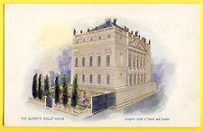 cpa Raphael Tuck THE QUEEN'S DOLLS HOUSE Reine Maison de POUPÉE Modèle réduit