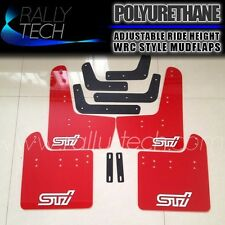 SUBARU IMPREZA RALLY TECH MUDGUARD MUD FLAP GR GV WRX STI 08-13 HATCH & SEDAN
