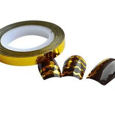 Nail Rolls Striping Tape DIY 3D Nail Art Tips Decoration Stickers Golden New