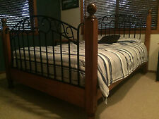 Timber & Iron Queen Size Bed