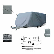 Travel Camper Trailer RV Storage Cover Fits 20' -21'L