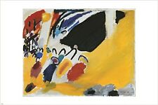 impression III WASSILY KANDINSKY vintage painting ART POSTER modern 24X36