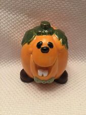 Adorable Pumpkin Smiling Halloween Fall Harvest Thanksgiving Decor Made in 1978