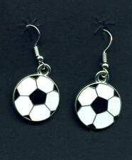 Ohrringe Fußball Ohrhänger WM Earrings Soccer