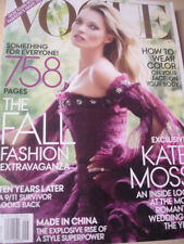 september 2011 Vogue Kate Moss cover + Fall Fashion 758 pages