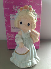 PRECIOUS MOMENT  FIGURINE -  TO THE SWEETEST GIRL IN THE CAST  -  742880