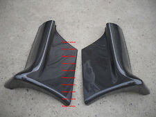 Carbon Fiber East Bear Side Skirts Extensions Add On For Nissan Skyline R32 GTR