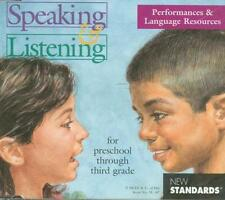 Speaking & Listening Performances & Language Resources Pre-3rd PC MAC CD NCEE