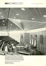 1967 Roof, Moot Room, University Of Liverpool 1 B. & N. Westwood, Piet