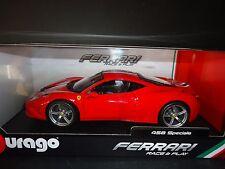 Bburago Ferrari 458 Speciale Red 1/18
