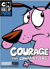 COURAGE THE COWARDLY DOG: SEASON FOUR - DVD - Region 1 - Sealed