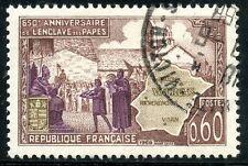 STAMP / TIMBRE FRANCE OBLITERE N° 1562  ENCLAVE PAPALE DE VALREAS