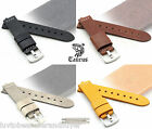 TAURUS PREMIUM Vintage Genuine Leather Watch Band Strap 22mm 24mm For Panerai