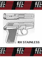 KEL-TEC P32 P3AT 380 RIGHT HAND STAINLESS Belt Clip Pant Holster Conceal IWB