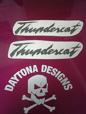 THUNDERCAT CUSTOM PAIR PANEL FAIRING GRAPHICS DECALS STICKERS ASSORTED COLOURS