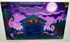 RETIRED HALLOWEEN LED LIGHTED CANVAS PICTURE BY KURT S. ADLER - 44839