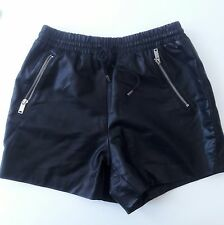 Forever 21 womens Faux Leather Shorts High Waist Short Black size Small
