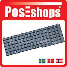 Orig. Nordic Tangentbord Satellite C650 C650D C660 C660D C670 D SCA Tastatur New