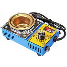 Solder Pot Soldering Desoldering Bath Titanium Plate 50mm 220V 150W 200-450℃