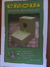 Crow Vending Machine Kit -Crows bring MONEY - Do an original Study - Build a Box