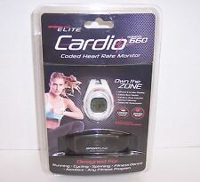 New! Sportsline Elite Cardio Womens 660 Coded Heart Rate Monitor {2920}