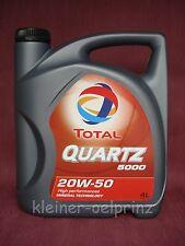 4 litros el cuarzo TOTAL 5000 20W-50 Aceite para motores/Coche antiguo mineral