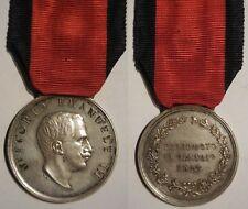 medaglia di benemerenza per soccorritori terremoto in Marsica 1915 Avezzano arg