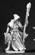 Satheras Elf Warlock Reaper Miniatures Dark Heaven Legends Wizard Mage Caster