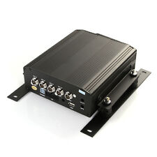 4 Channel Car Vehicle Video Recorder Hard Drive Mobile SD DVR Embedded HDD-MDVR