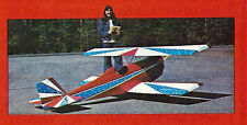 Giant Scale Bud Nosen Gere Sport Biplane Plans,Templates & Instructions
