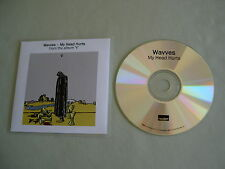 WAVVES My Head Hurts promo CD single V