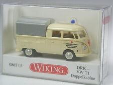 TOP: Wiking VW T1 Doppelkabine DRK in OVP