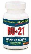 Ru-21 Wake Up Clear, Hangover Prevention, Dietary Supplement, 120 Capsules