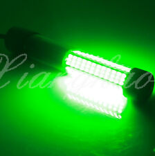 LED 900Lumens Green Underwater Submersible Boat Night Fishing Fish Lighter Light