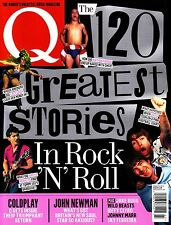 Q March 2014 The 120 GREATEST STORIES IN ROCK'N'ROLL Coldplay SKY FERREIRA @New@