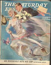 JUNE 24 1939  SATURDAY EVENING POST - magazine - WEDDING DAY