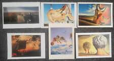 LOT OF 6 POSTCARDS OF PAINTINGS BY SALVADOR DALI