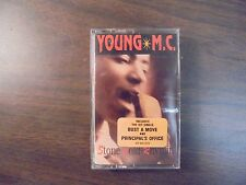 """NEW SEALED  """"Young M.C"""" Stone Cold Rhymin   Cassette Tape  (G)"""