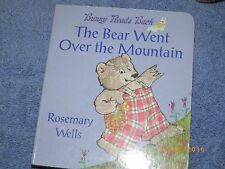 NEW The Bear Went Over the Mountain by Rosemary Wells Board Books Book (English)
