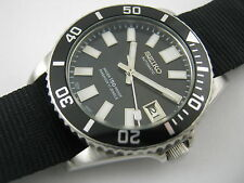 Classic SEIKO 7S26-0050 Modified 62MAS Automatic Diver's Watch Nice Collection