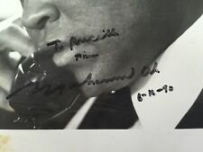 Muhammad Ali signed and inscribed 3x5 photo!!! From 6-16-90!!!! Rare!!! JSA